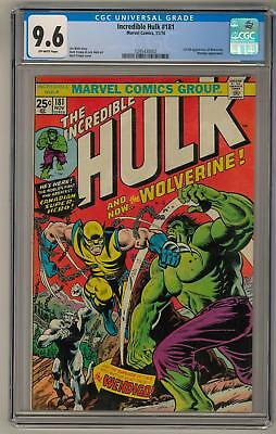 Incredible Hulk #181 CGC 9.6 (OW-W) 1st Full Wolverine