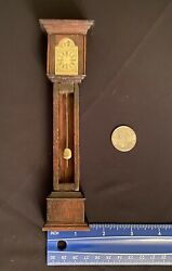 Vintage Dollhouse Grandfather Clock
