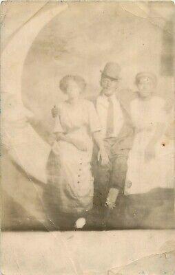 c1910 Black Americana - Paper Moon Studio Real Photo Postcard/RPPC