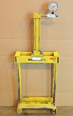 Enerpac Lynair 9425 Lb H-frame Press Bench Press Clicker Press 12 Stroke