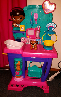 As new - Doc mc stuffins play centre $50