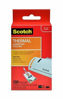 Scotch Thermal Laminating Pouches 5 Mil Thick For Extra Protection Professi...