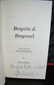 BOYCIE-AND-BEYOND-JOHN-CHALLIS-SIGNED-BOOK-AUTOGRAPH-COA-ONLY-FOOLS-AND-HORSES