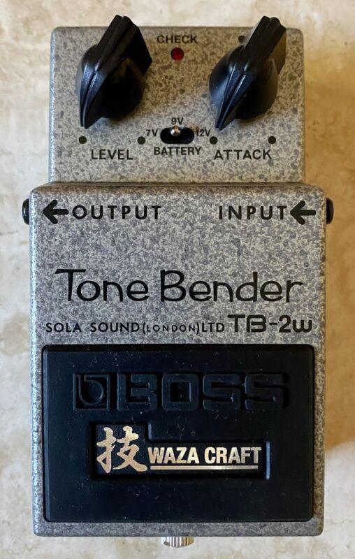 Boss TB-2W Tone Bender Waza Craft + Box