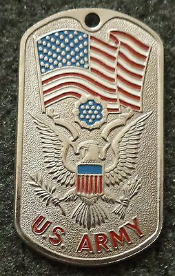 RUSSIAN DOG TAG PENDANT MEDAL   US ARMY    #212