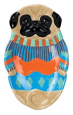11148 Pug Pugly Sweater Dog Spoonrest Kitchen Tray Decor Baking Cooking Puppy