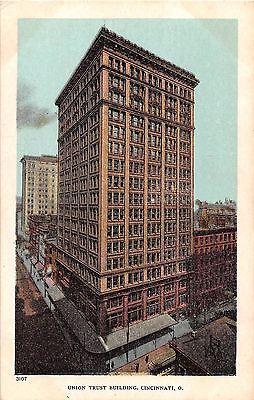 Ohio Postcard Cincinnati  Union Trust Building Bank