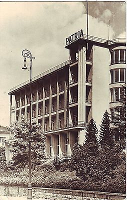 Poland Krynica - Patria 1956 cover to Cleveland OH USA airmailed postcard