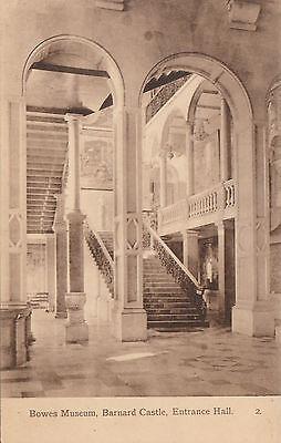Entrance Hall, Bowes Museum, BARNARD CASTLE, County Durham