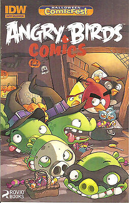 HCF 2014 Angry Birds  #1   Halloween ComicFest Edition](Halloween Comics Angry Birds)