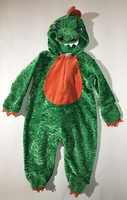 6mo Baby Green Dinosaur/Dragon/Alligator Halloween Costume One Piece Bodysuit](Alligator Baby Costume)