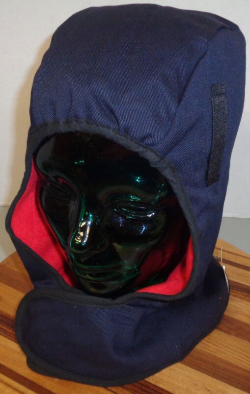HOT RODS BY OCCU NOMIX SN530 FLAME RETARDANT HOOD BLUE EXCELLENT CONDITION