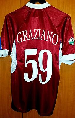 jersey Calcio Como Italy Cataldo Graziano 2003 errea size L red image