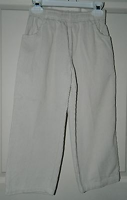 (WES & WILLY boys Light Oatmeal Cords PANTS* 4)