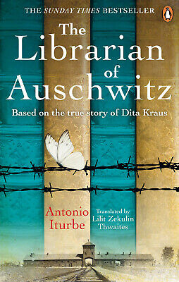 The Librarian of Auschwitz by Antonio Iturbe - Bestselling Book - (Best Selling Novels Of 2019)