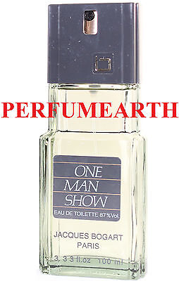 ONE MAN SHOW UNBOX 3.3 / 3.4 OZ EDT SPRAY FOR MEN BY JACQUES BOGART