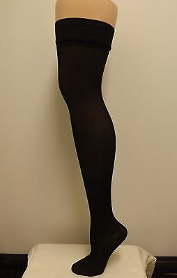 Sheer Thigh Highs, 20-30 mmHg  compression  w Stay up Lace Top  Stockings