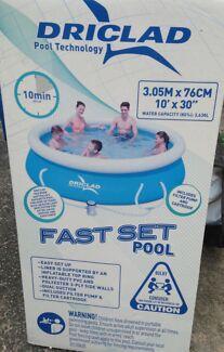 Swimming Pool.. Driclad Fast Set Pool Telarah Maitland Area Preview