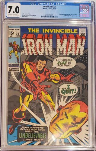 Iron Man #21 CGC 7.0  1970