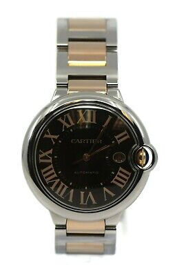 Cartier Ballon Bleu 18K Rose Gold/Stainless Steel Watch W6920032
