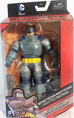 "Armored Batman The Dark Knight Returns 6"" Inch DC Multiverse Figure Doomsday"