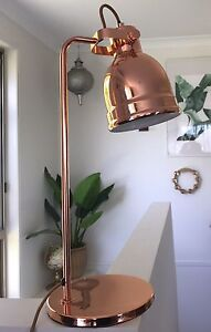 Copper hinged table lamp from Freedom Palm Beach Gold Coast South Preview