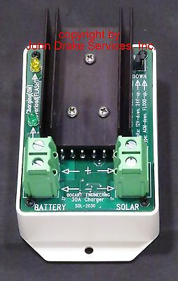 Bogart Engineering SC-2030 solar charge controller 12 / 24 volt 30 amp Trimetric