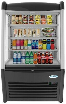 36 Open Air Merchandiser Grab And Go Commercial Refrigerator Cooler - 13 Cu.ft.