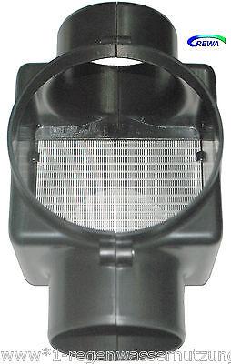 Regenwasserfilter Zisternenfilter F100L mit Edelstahlspaltsieb