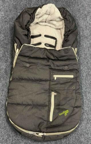 JJ Cole Arctic Bundle Me COVER baby infant Car Seat Stroller GRAY  EUC
