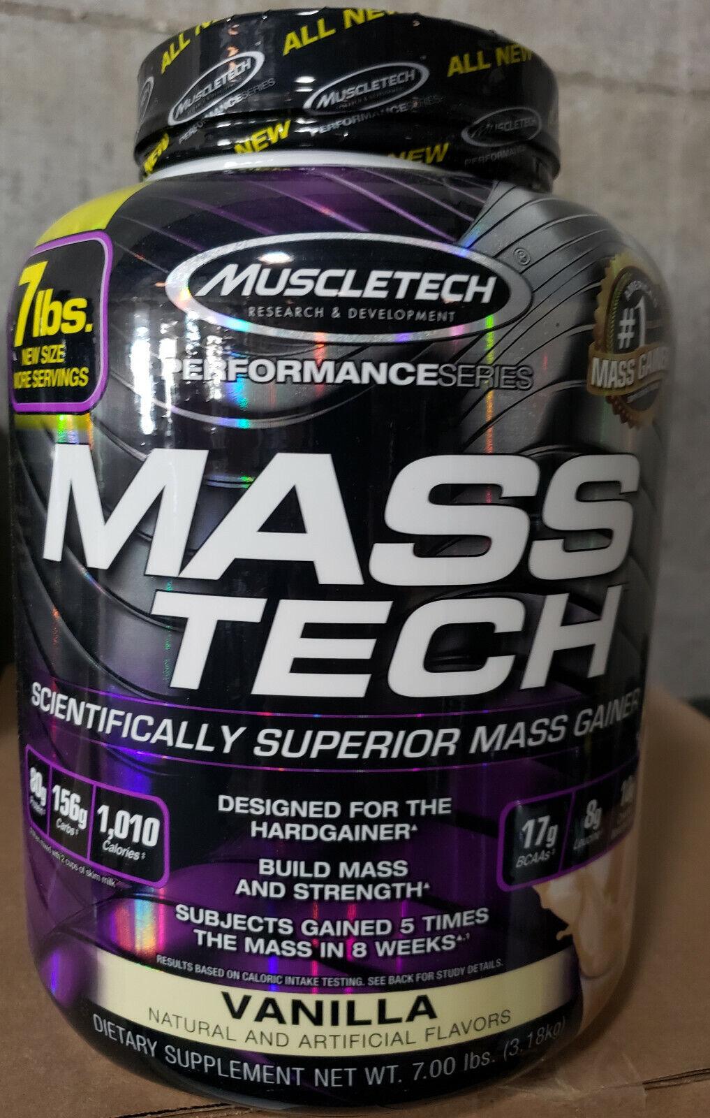 Muscletech Mass Tech Mass Gainer Protein Hardgainer Choose F