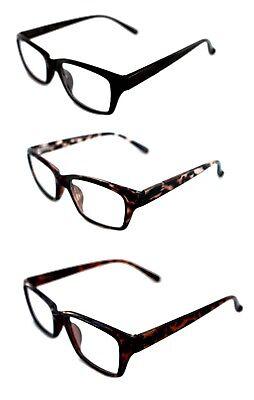 Men's Womens small rectangular Clear Lens Graphic Designer Modern Eye Glasses   (Graphic Designer Glasses)