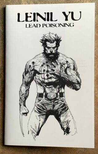 Leinil Yu Lead Poisoning SDCC Ashcan Sketchbook #566 of 800 RARE