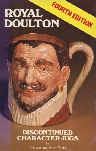 Royal Doulton - Identification Discontinued Character Jugs / Scarce Book +Values