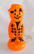 Halloween Blow Mold Scarecrow