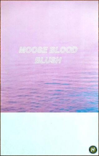 MOOSE BLOOD Blush Ltd Ed New RARE Tour Poster +FREE BONUS Punk Indie Rock Poster