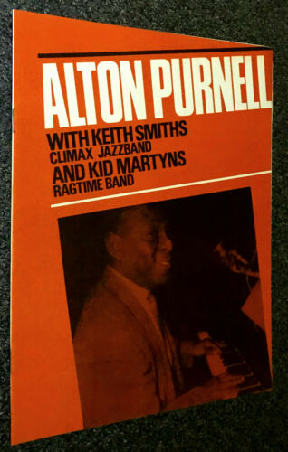 ALTON PURNELL-KEITH SMITH/KID MARTYN RAGTIME BAND-UK 1964 CONCERT PROGRAMME-MINT