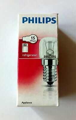 1x Philips Appliance Glühbirne Kühlschrankbirne Glühlampe Klar E14 15W T25 CL
