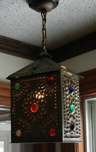 Antique Brass Coach Lamp