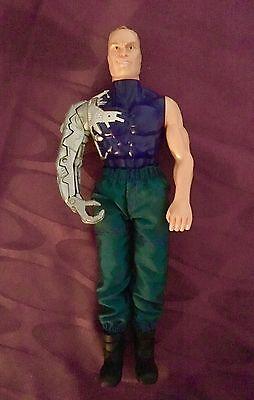 """Action Man """"Max Steel Psycho"""" von 1998, Original Mattel; Actionfigur"""