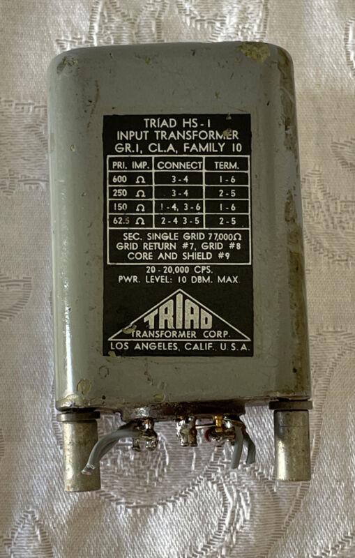 Triad HS-1 Transformer