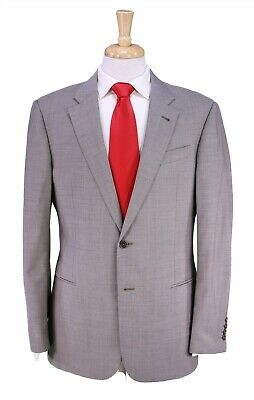 Armani Collezioni Very Recent Light Gray 2-Btn Modern Fit Wool Suit 42R