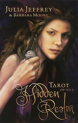 Tarot of the Hidden Realm by Barbara Moore (2013 Book & Deck Kit) NO SHRINKWRAP