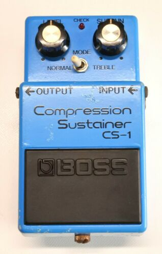 BOSS CS-1 Compression Sustainer Guitar Effect Pedal MIJ 1978 #55 Skeleton Switch