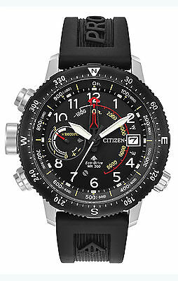 New Citizen Eco-Drive Promaster Altichron Men's Watch BN5058-07E