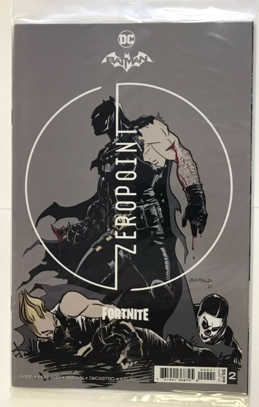 Batman FORTNITE Zero Point #2 Variant Cover C Sealed Code in Polybag DC Comics