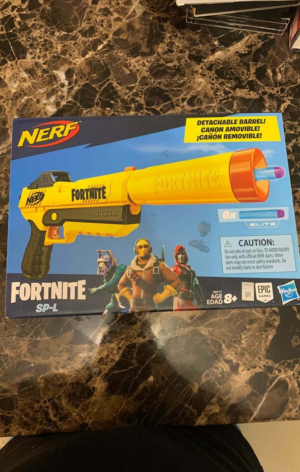 Fortnite Nerf SP-L gun