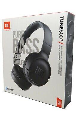 JBL Tune 500BT Wireless Bluetooth On-Ear Headphones /w Built-In Microphone Black