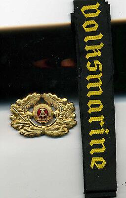 Mützenband Volksmarine Mützenabzeichen Fasching Uniform Effekten Ähn.Wehrmacht