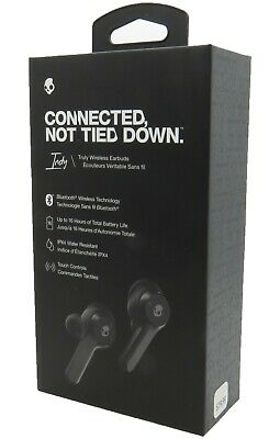 Skullcandy Indy Truly Wireless Bluetooth Earbuds Headset Black In Retail  ()